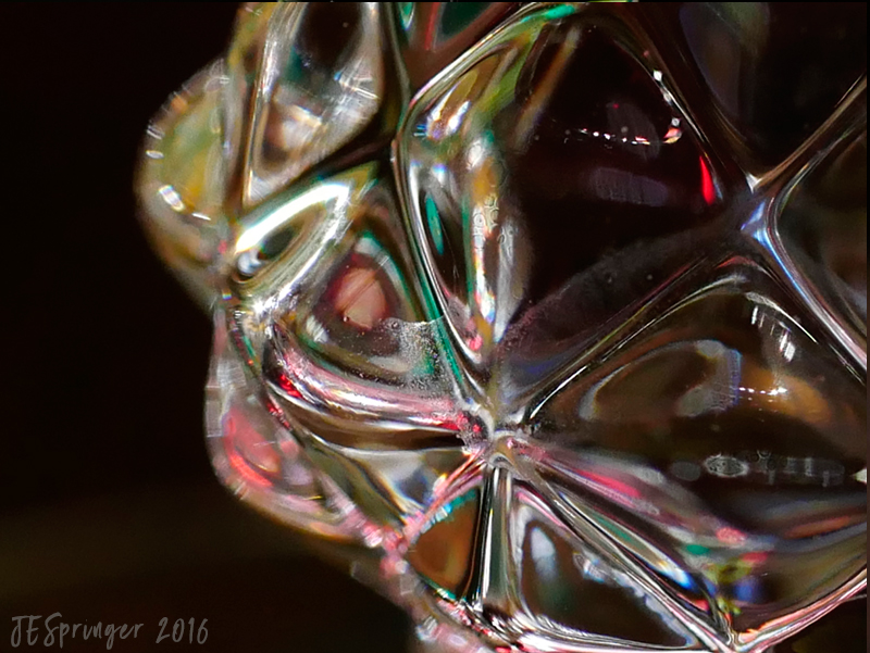 crystal wineglass photograph by joanie springer 2016