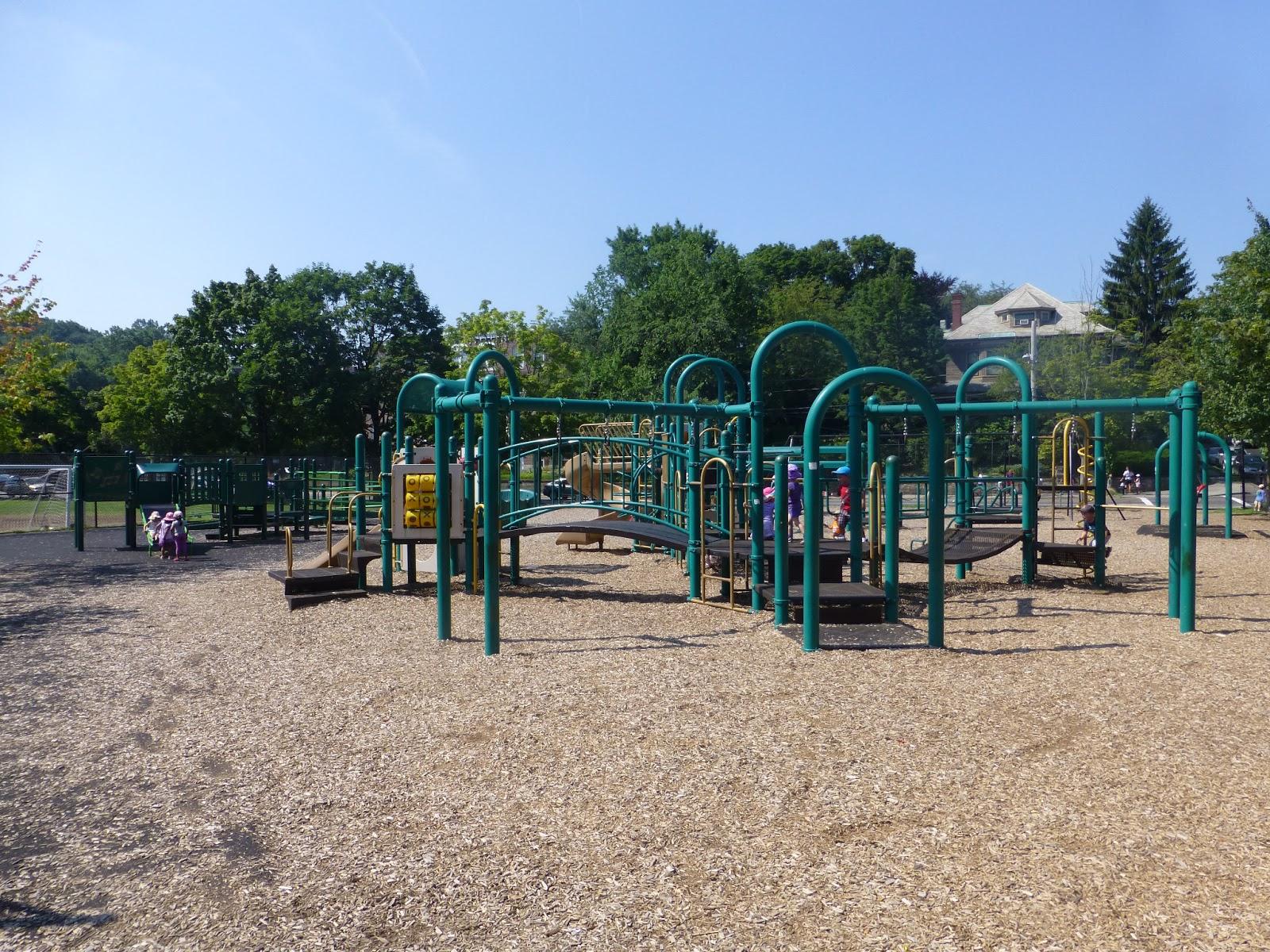 visiting brookline playgrounds driscoll school playground