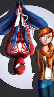 Spider Man And Mary Mobile HD Wallpaper
