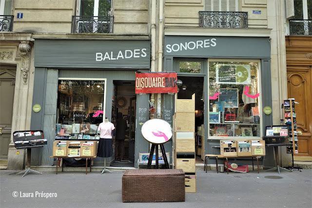 Um do melhores lugares para quem procura discos de vinil em Paris !