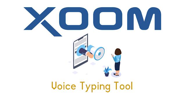 Xoom Voice To Text Generator Tool
