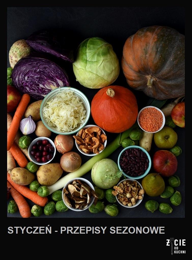 styczen sezonowe warzywa i owoce