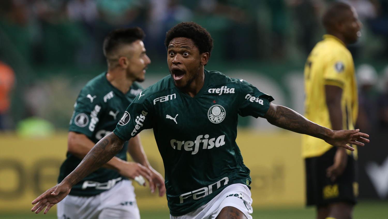 Luiz Adriando artilheiro do Palmeiras