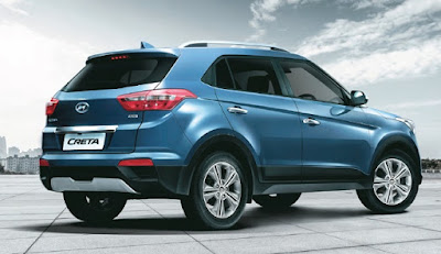 The all new Hyundai Tucson SUV Rear side view Hd Photo