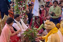 सैफई में मुलायम सिंह यादव की नातिन का विवाह समारोह संपन्न