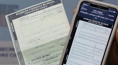 Bahia: Em breve, você não terá mais que aguardar a chegada do seu CRLV pelos Correios