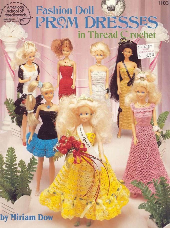 Barbie Revista-Fashion Doll Prom Dresses