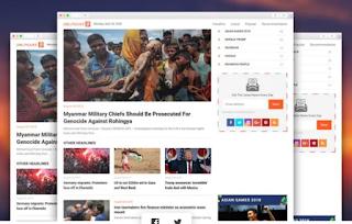 Download Free Liputan 9 News Blogger Template premium