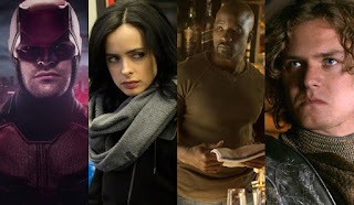 the defenders: primeras imagenes del set con jessica jones