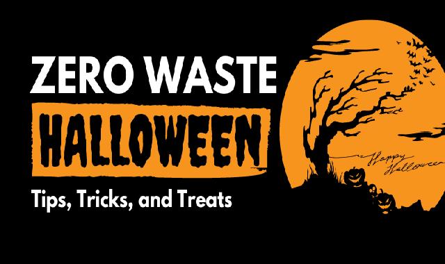 Zero Waste Halloween #infographic
