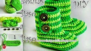Paso a paso de Botitas Crochet