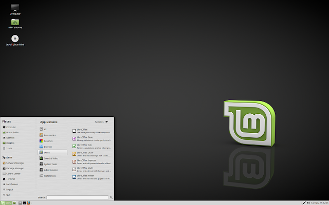 "Linux Mint 18.1 ""Serena"" MATE"