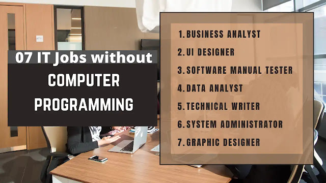 IT jobs without computer programming