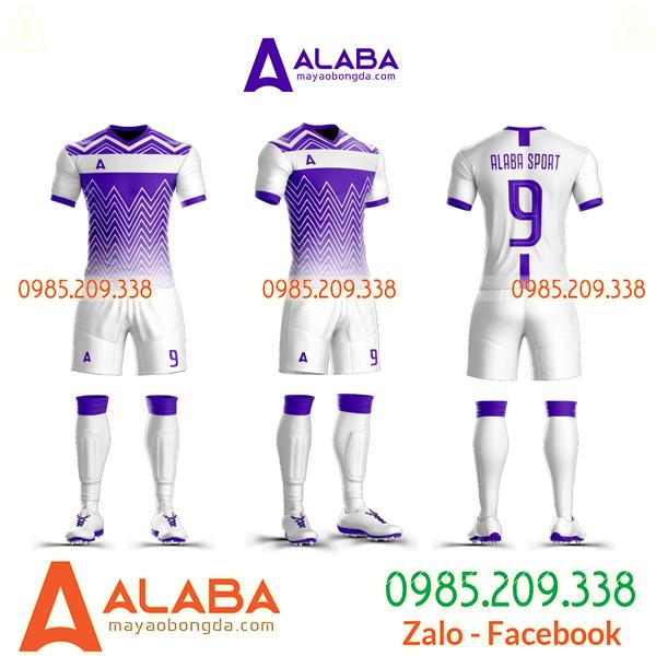Áo bóng đá màu tím xịn