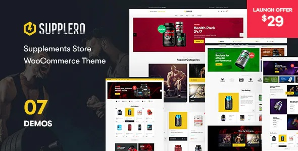 Best Supplement Store WooCommerce Theme