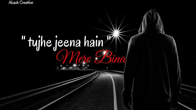 Bhula Dena Mujhe Tujhe Jeena Hai Mere Bina WhatsApp Status Video Download.