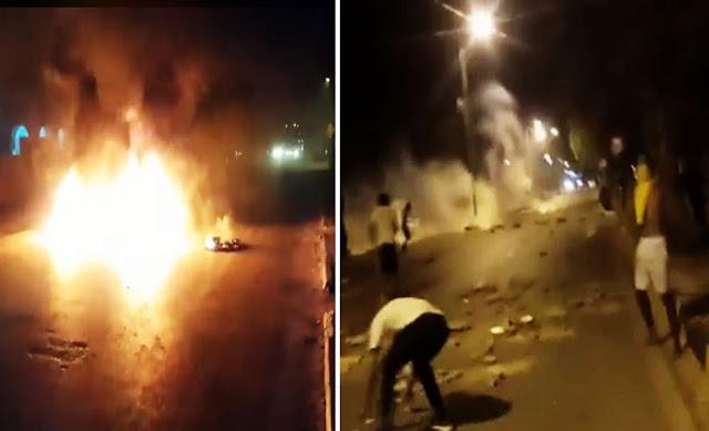 دوز: كر وفر بين الأمن والمحتجين واستعمال مكثف للغاز المسيل للدموع ... تضامنا مع أهالي تطاوين !