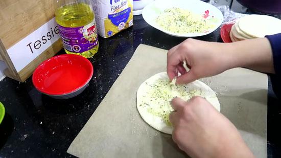مطبخ ام وليد أسرع و اسهل خبزة مورقة
