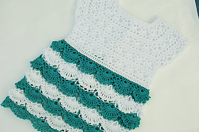 3 - Crochet Imagen Falda para canesú a crochet y ganchillo por Majovel Crochet