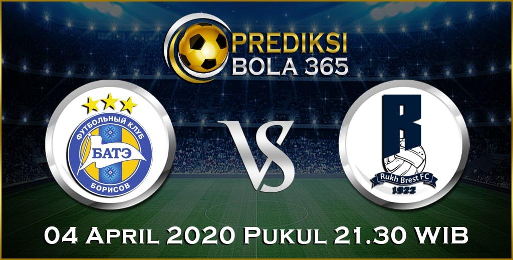 Prediksi Skor Bola BATE Borisov vs Rukh Brest 04 April 2020