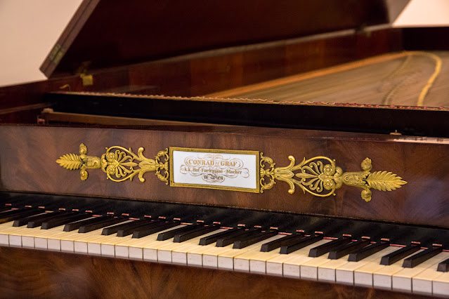 Fortepiano by Conrad Graf, Vienna, 1826 (Photo Paul Lehane/Theatrical Photography)