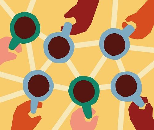 ilustraciones modernas por Anna Kövecses | creative line drawings, cool stuff, pictures | imagenes bellas chidas, dibujos bonitos hermosos, juego de lineas y formas continuas