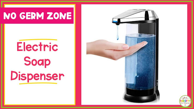 Teacher gift ideas 2020 can definitely include an electric soap dispenser.