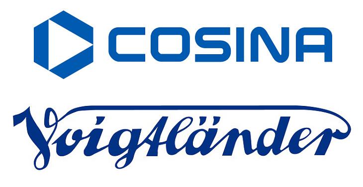 Логотипы Cosina и Voigtlander