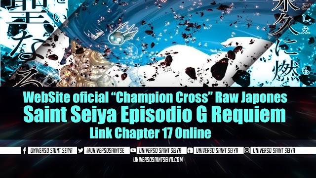 "Saint Seiya Episodio G Requiem – Capitulo 17 – WebSite oficial ""Champion Cross"" Raw Japones"