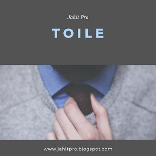Mengetes Kesesuaian Blok dengan Toile