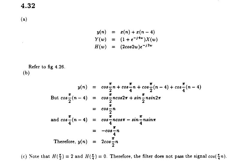 Digital Signal Processing Proakis solution manual 4th edition pdf