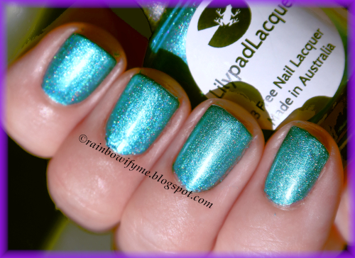 Lilypad Lacquer: Spearmint Leaves