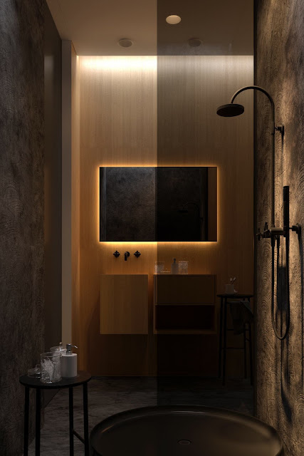 Bathroom Design With Walk In Shower