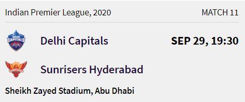 delhi capitals match 3 ipl 2020