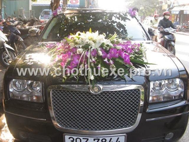 Mẫu hoa xe cưới XH 045