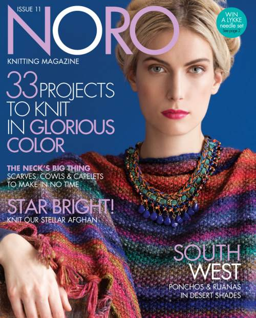 431aa790d In today s post we re going to have a look at Noro Magazine Issue 11.  Before anyone points out that this was the Fall Winter 2017 issue