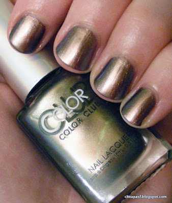 Swatch of Color Club Oil Slick collection: Cash Only