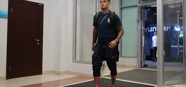 Eliminada da Copa, seleção brasileira desembarca no Rio de Janeiro