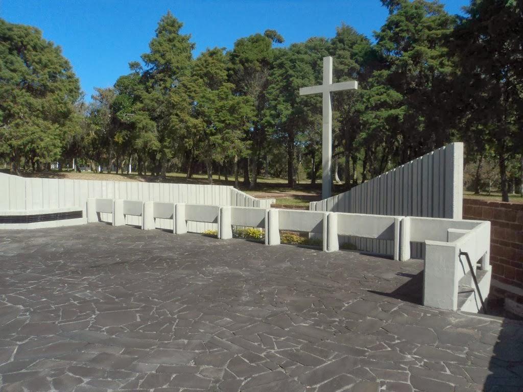 Memorial com Restos Mortais do Marechal Osório, na Cidade de Tramandaí