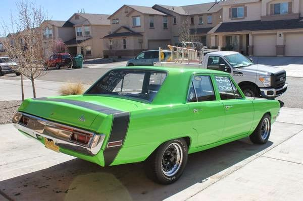 1970 Dodge Dart Custom Sedan Buy American Muscle Car