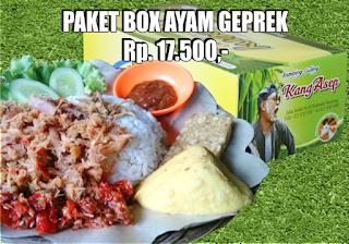 Nasi Kotak di Padasuka Bandung