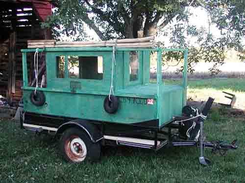 Vintage Houseboat Plans