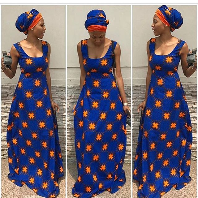 Just Check out This Beautiful Ankara Long Gown Styles - DeZango ...
