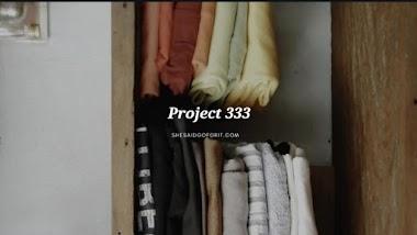 Minimalist PH 101: Minimalist wardrobe featuring  Project 333 Challenge