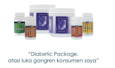 Luka Gangren Sembuh Berkat Paket Diabetes Produk Fkc