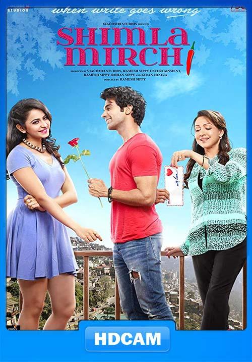 Shimla Mirchi 2020 Hindi CAM 720p x264 | 480p 300MB | 100MB HEVC