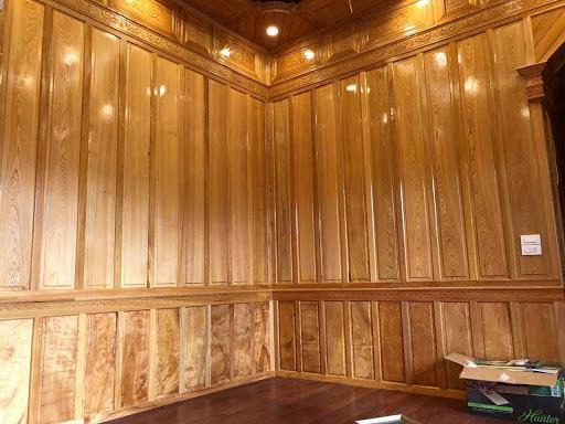 Mẫu gỗ ốp tường đẹp 2021, Hình Ảnh ốp gỗ chân tường bằng gỗ tự nhiên, công nghiệp đẹp nhất