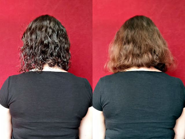 Czyste Piękno - Maska do włosów - Regeneracja i dobudowa, efekty