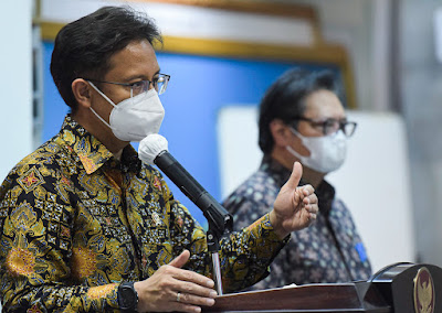 Hadapi Varian Baru Virus Korona, Menkes: Tetap Disiplin Terapkan Protokol Kesehatan