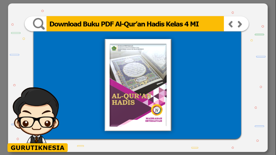 download buku pdf al-quran hadis kelas 4 mi